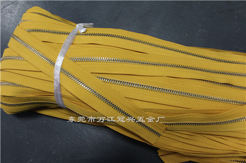 Problems needing attention in wholesale of metal zippers